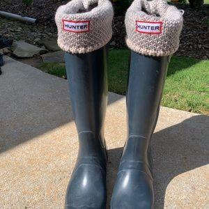 HUNTER boot size 5-6
